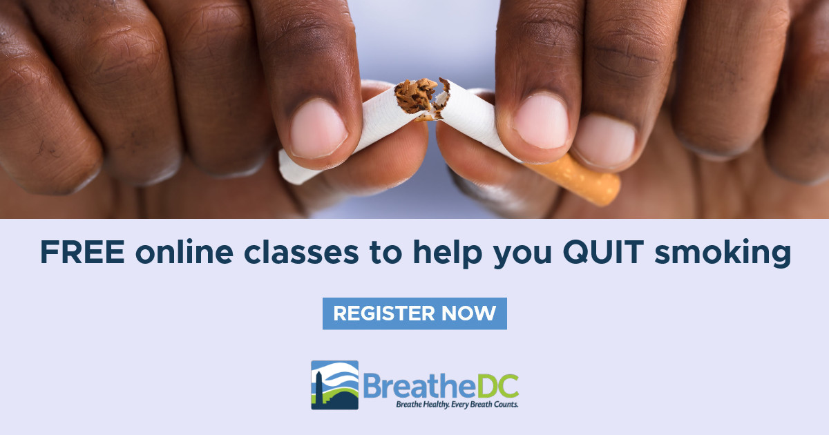 Sign up for FREE cessation classes.