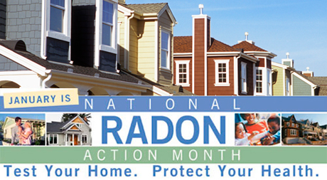 Take Action! January is National Radon Action Month